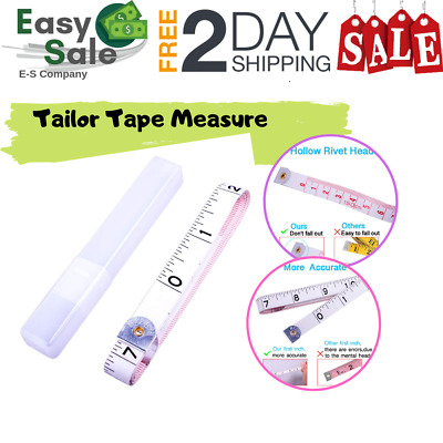 Ess Measure Measuring Tape Soft Tapes Long Sewing tailor Ruler  60inch/150cm