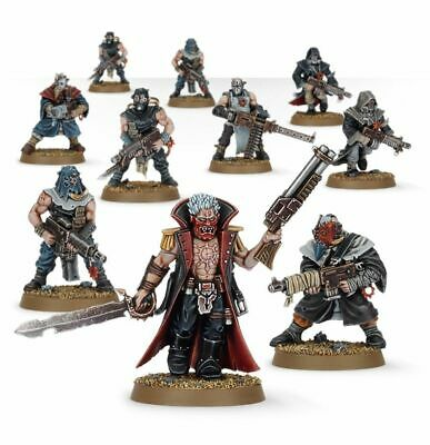 Warhammer 40000 Dark Vengeance Cultists With Heavy Stubber And Autoguns New