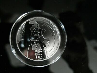 2017 Niue Star Wars Classic - Darth Vader 1 oz Silver $2 Coin w/capsule