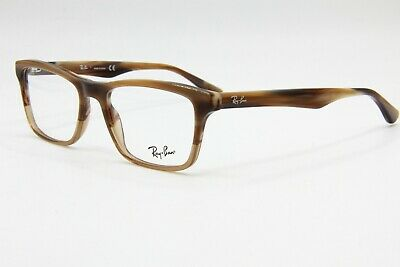 0e0285a74e15d New Ray Ban Rb 6335 2758 Brown Authentic Eyeglasses Frame Rb6335 Rx 54-17