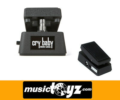 Dunlop Cry Baby 535Q Mini Wah Wah Guitar Pedal - NEW/Auth - Gift