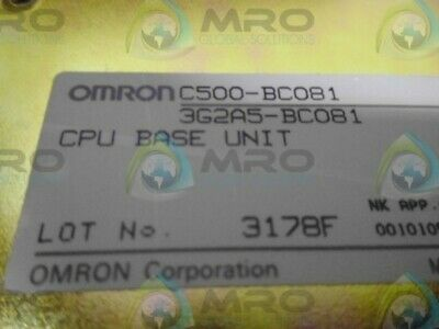 Omron C500-Bc081 *New In Box*