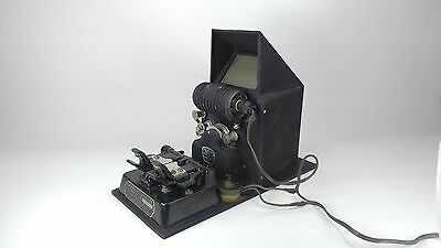 1926 VINTAGE GRISWOLD JR. FILM SPLICER 16mm + CRAIG PROJECTO EDITOR