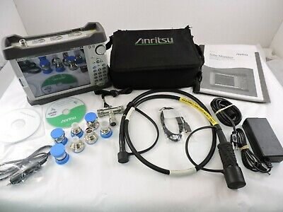 Anritsu S331E, Site Master Cable & Antenna Analyzer, 1 Year Warranty