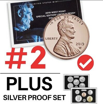 2019 S Silver Proof Set Deep Cameo With Reverse Proof Penny/TOTAL11coins.PRESALE