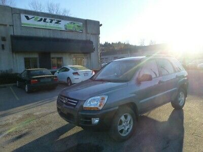 2006 KIA Sportage 4dr LX I4 Manual FWD 2006 Kia Sportage 4dr LX-Convenience SUPER LOW LOW RESERVE - WORLDWIDE DELIVERY!