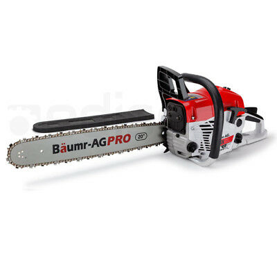 """62cc Petrol Commercial Chainsaw 20"""" Bar E-Start Pruning Chain Saw"""