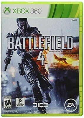 Xbox 360 Game Battlefield 4 Brand New & Factory Sealed