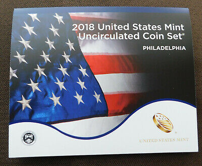 2018 P US Mint Uncirculated coins from Philadelphia, 10 Coins in original holder