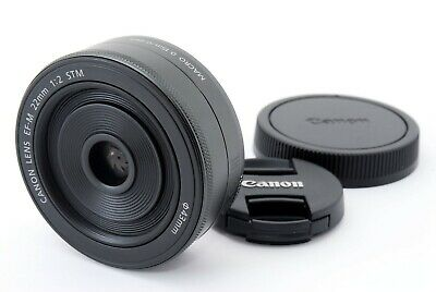 【Top Mint+】Canon EF-M 22mm F2 STM Lens from Japan 401727