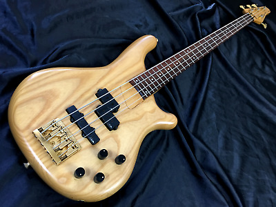 KAWAI ROCKOON RB-61PJ Used Bass Guitar Natural Excellent condition [1781]
