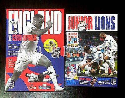 England v Czech Republic Programme March 2019 UEFA Euro 2020 Qualifier 22/03/19