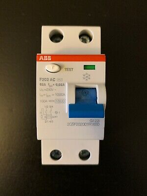 Abb Residual Current Device F202 Ac , 2Csf202001R1630 New!! Nice!!!