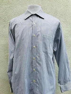MICHAEL KORS SIZE Lg Mens Striped Long Sleeve Button Down