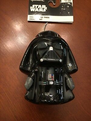STAR WARS DARTH VADER  Hallmark 2017 Decoupage Christmas Ornament ~DISNEY