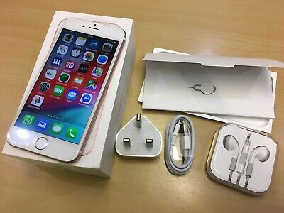 Apple iPhone 6s - 32GB - Rose Gold (Unlocked) Smartphone. In full working order