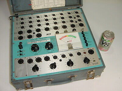 Vintage B&K Dyna-Jet 707 Mutual Conductance Tube Tester Checker Project Fixer