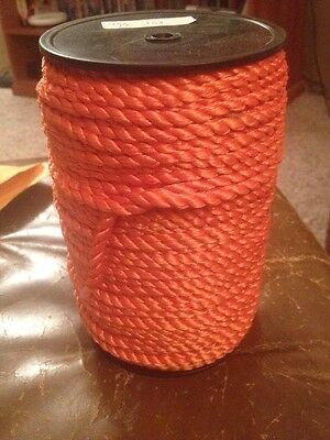 Orange Rayon Cord Tassel 1/6""