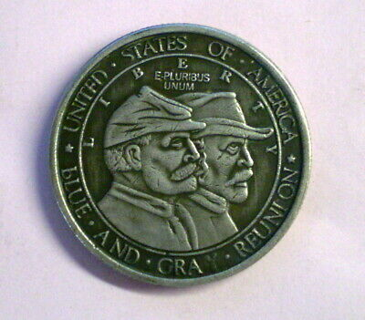 1936 Half Dollar 'Gettysburg Anniversary' US Commemorative Silver-Plated Coin