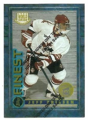 94/95 FINEST STANLEY CUP CHAMPION PARALLEL Hockey (#151-165) U-Pick from List