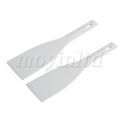 Ink Spatulas Screen Blade Ink Apply Shovel Printing Accessory Set of 2 White