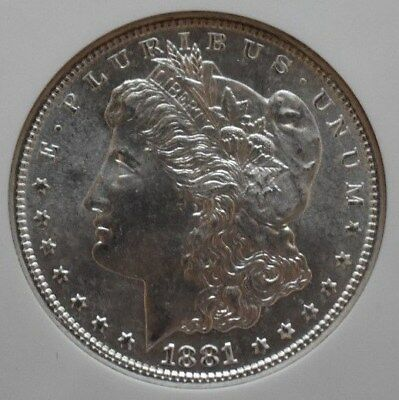 1881-S Morgan Silver Dollar MS67 EXTREMELY Rare in this Condition