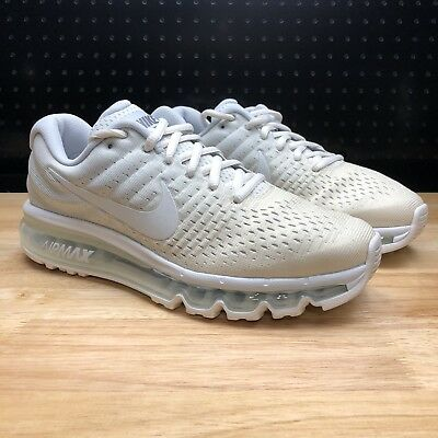 competitive price c5fd9 c90d9 New Nike Air Max 2017 Women's Running Shoes Phantom White Off (849560-005)