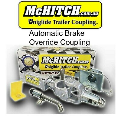 McHitch Automatic Override Brake Coupling 2T Camper Caravaning All Terrain Jayco