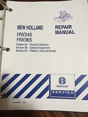 NEW HOLLAND 109 Grain Windrower Parts Manual NH - $9.95 | PicClick on