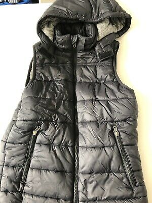 Boys - Seed - Puffer Vest With Removable Hood - Size 12