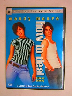 How to Deal - MANDY MOORE - TRENT FORD (DVD, 2003, Platinum Series)