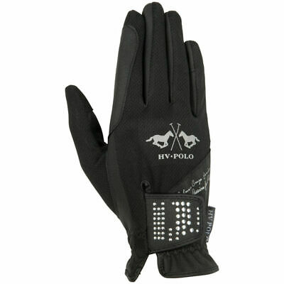 Hv Polo Lisette Gloves Horse Riding Equestrian Competition Handgloves Protection