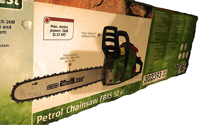 """45cm (18"""") Florabest Chainsaw FBKS 52 A1 with Oregon PRO-AM Chain (German made)"""