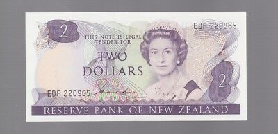 New Zealand $2 Two Dollar note Banknote  E-139
