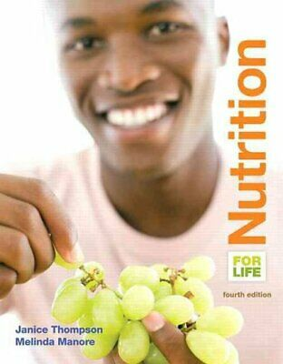 Nutrition for Life by Janice J. Thompson 9780133853360 (Paperback, 2014)