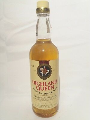 Highland Queen Whisky 1980s
