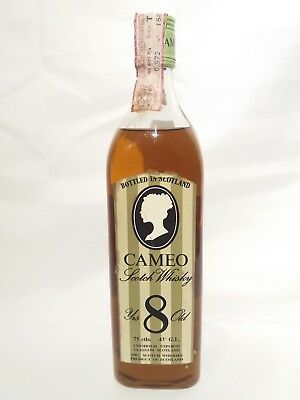 Whisky: Cameo 8 Year Old 1960-70s