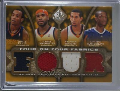 f7d0a4a47c6e 2009-10 SP Game Used Four on Fabrics EMWRNTHL Phoenix Suns Golden State  Warriors