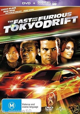 The Fast and the Furious 3 TOKYO DRIFT : NEW DVD