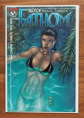 Fathom Preview, NM, Top Cow, Michael Turner