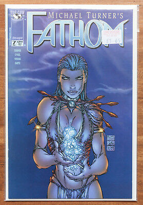 Fathom #7, NM, Top Cow, Michael Turner