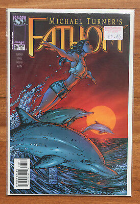 Fathom #5, NM, Top Cow, Michael Turner