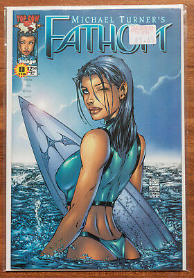 Fathom #0, NM, Top Cow, Michael Turner