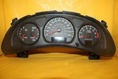2000 TO 2005 CHEVY CAVALIER INSTRUMENT CLUSTER W TACH REBUILT EXCHANGE LEDS