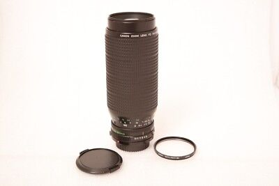 **TESTED**Canon FD 100-300mm Macro lens with Skylight filter and cups