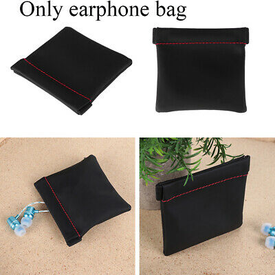 Storage Earbuds Holder Cable Organizer Earphone Bag Carry Pouch Mini Purse
