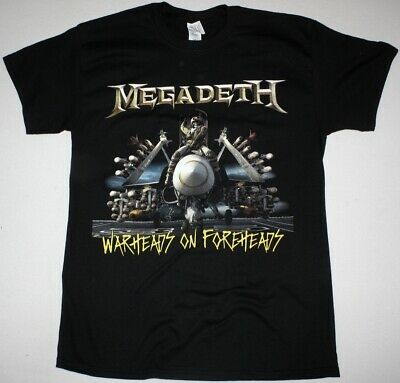 Megadeth Warheads On Foreheads T Shirt