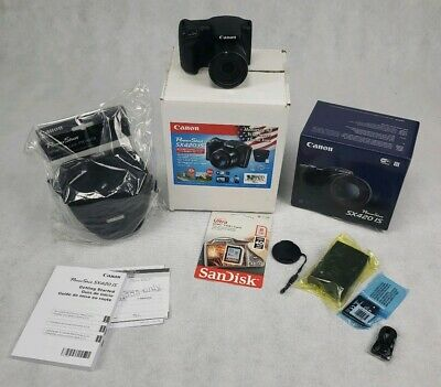 Canon PowerShot SX420 IS Digital Camera  w/8GB memory and Case