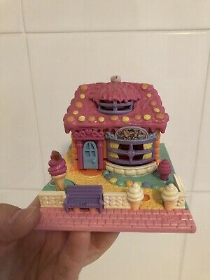 1995 Vintage Polly Pocket Ice Cream Parlor Bluebird Toys