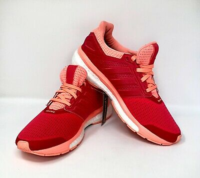 pretty nice c29ae bde81 Adidas Supernova Glide Red Sunglow Techfit Womens Sneakers Size 7.5 NWT